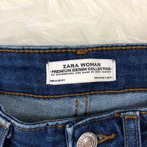 2453bbff Zara Jeans - Zara Premium Denim Skinny Flare Jeans